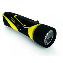 Linterna Cressi Lumia negro-amarillo