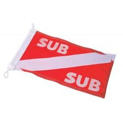 Bandeira de nylon para bóia