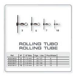 Blister Titan Grauvell 12 Rolling tubo