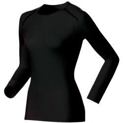 Camiseta Térmica interior Odlo WARM Mujer Negro
