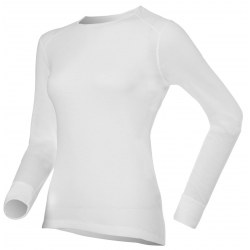 Camiseta Térmica interior Odlo WARM Mujer Blanco