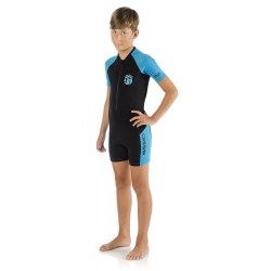 Shorty Cressi Little Shark 2mm Azul