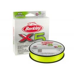 BERKLEY X5 BRAID 150M FLAME GREEN