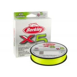 Trenzado BERKLEY X5 BRAID 150M FLAME GREEN