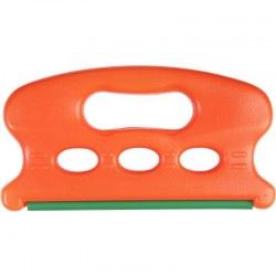 Plegador Ragot naranja fluorescente