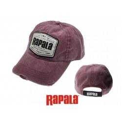 Gorra Rapala Burdeos/Negro
