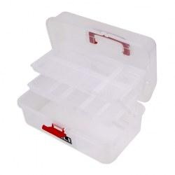 Caja maleta translúcida 10D